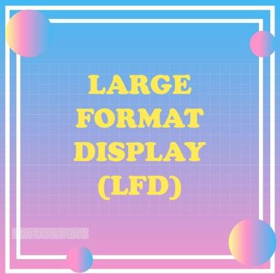 Large Format Display (LFD)