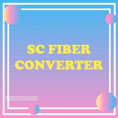 SC Fiber Converter