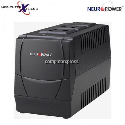 NEUROPOWER AVS1000-3UK 1000VA AUTOMATIC VOLTAGE REGULATOR UPS BACKUP