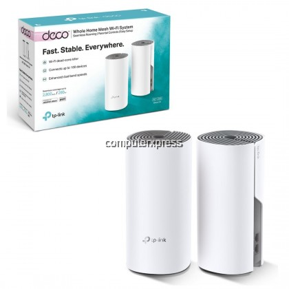 TP-Link Deco E4 - 2pack AC1200 Whole Home Mesh Wi-Fi System