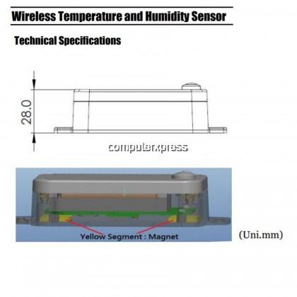 Netvox R718ABWireless Temperature and Humidity Sensor